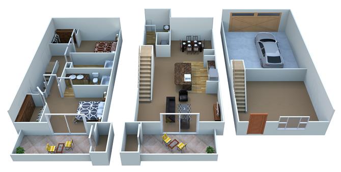 B5 - Boulevard Floor Plan 8