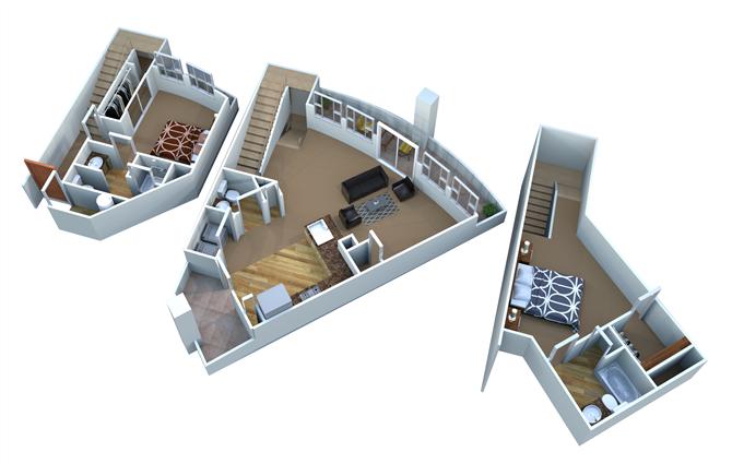 B4 - The Quarter Floor Plan 5