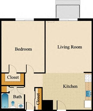 One Bedroom Deluxe Upgraded