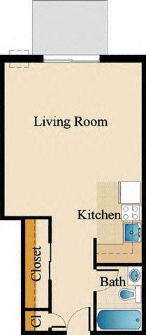 Studio Floor Plan 9