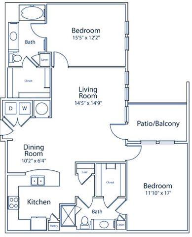Alta Design District Floor Plans