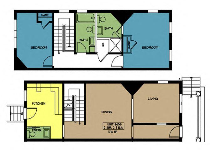 Floor Plans Of Green Street Apartments In Portsmouth Va