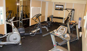 Fitness Center of Apartments in Saginaw