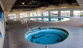 Hot Tub at Camelot Place Apartments in Saginaw
