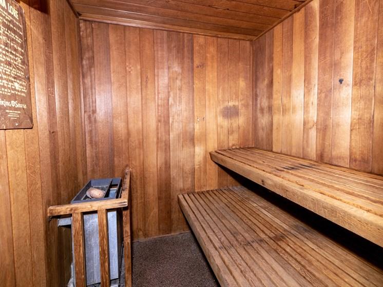 Apartments in Saginaw, MI Sauna
