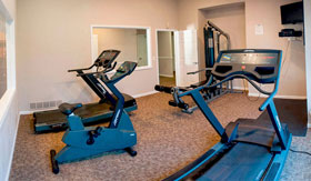 Fitness Center of Apartments in Taylor