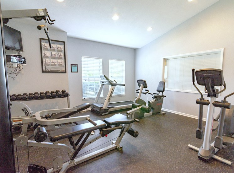 Fitness Center, Chelsea Park Apartments, Taylor, MI