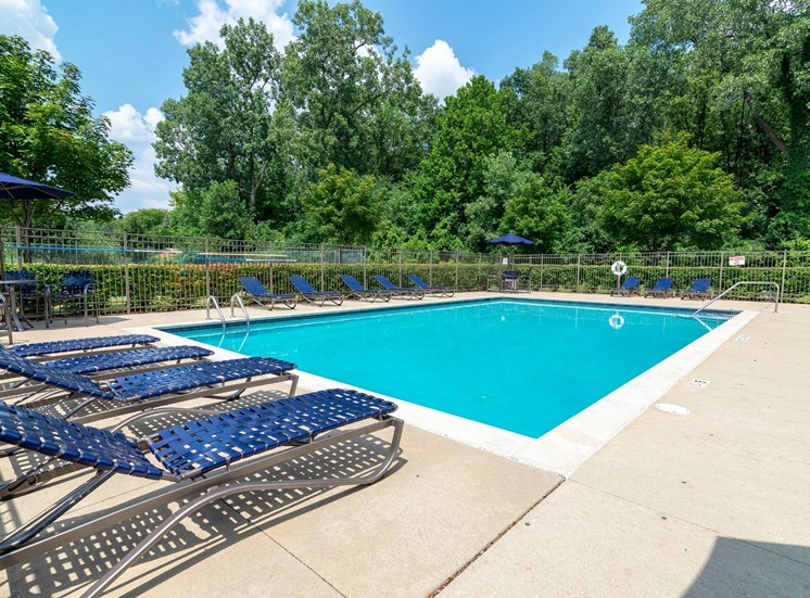 Resort Style Pool, Chelsea Park Apartments, Taylor, MI