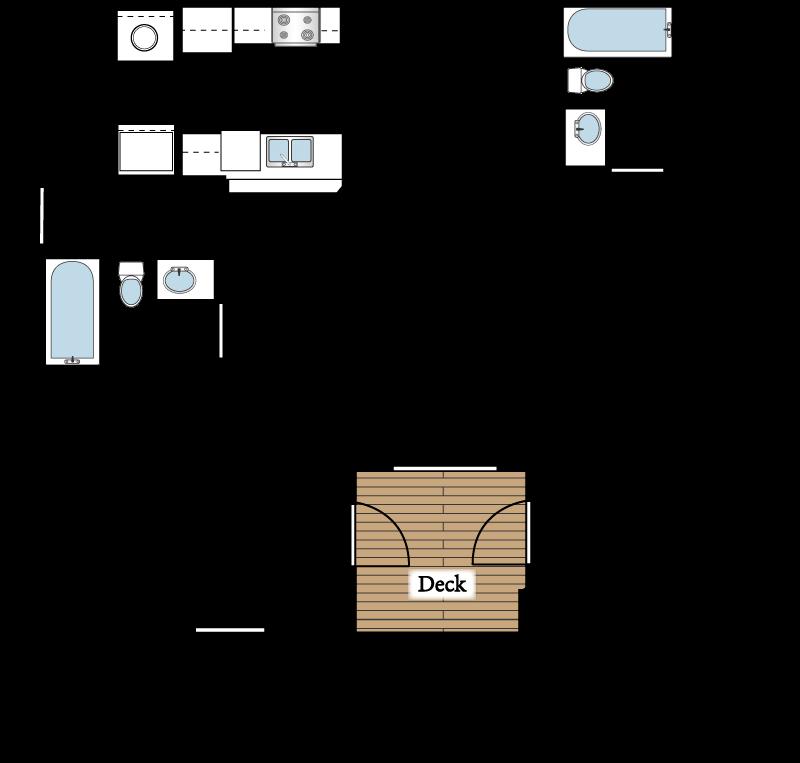 2 bed 2 bath bedroom apartment