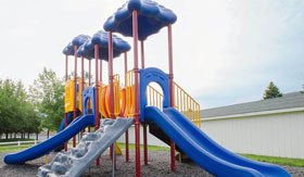 Playground at Crown Pointe Apartments in Holland