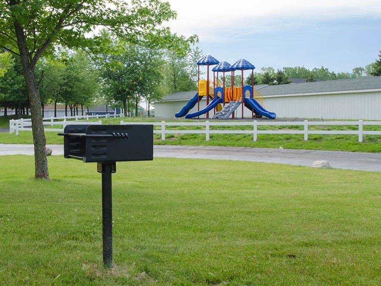 Apartment Playground At Crown Pointe Apartments In Holland, MI