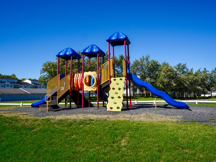 Community Playground At Crown Pointe Apartments In Holland, MI