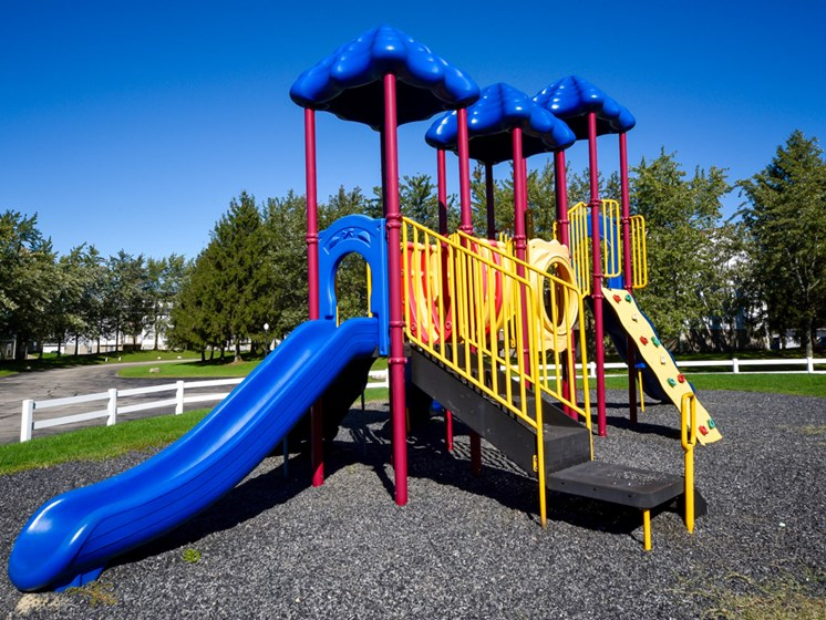 Apartment Community Playground At Crown Pointe Apartments In Holland, MI