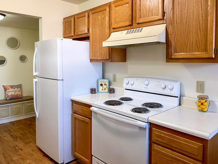 Updated Kitchens at Crown Pointe Apartments in Holland MI