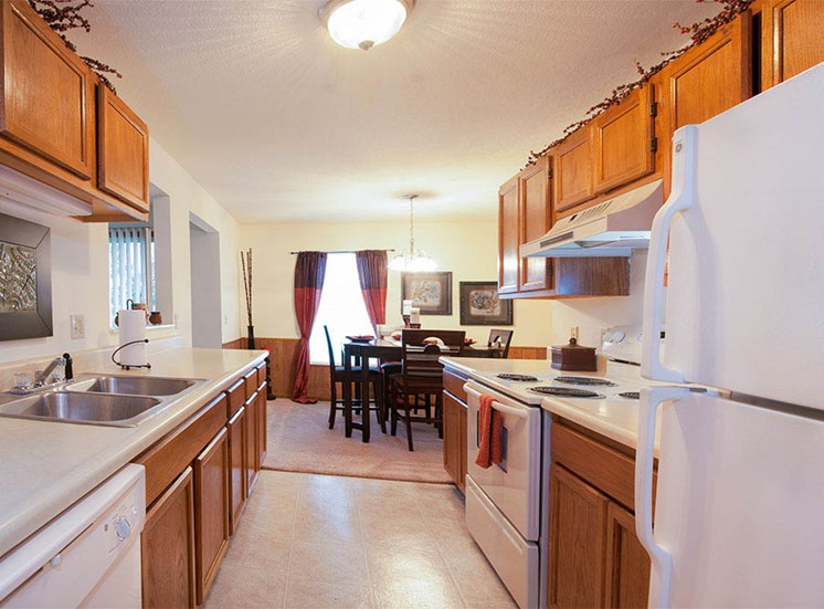 Updated Kitchen Apartments Holland MI