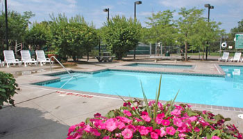 Pool at Eden Park Apartments