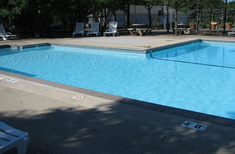 Pool at Eden Park in Brooklyn Park, MN.