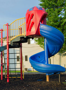 Playground at Gateway Apartments in Romulus