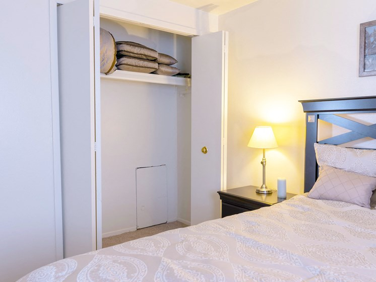 Accommodating Closets; Gateway Townhomes in Romulus, MI