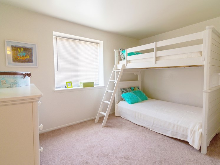 Second Bedroom; Gateway Townhomes in Romulus, MI