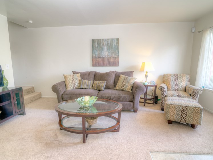 Open Living Space; Gateway Townhomes in Romulus, MI