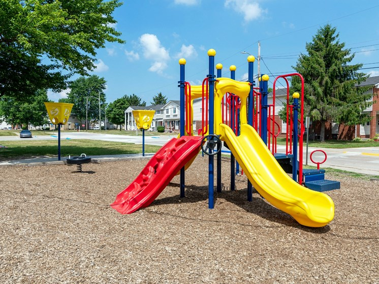 Playground Area; Gateway Townhomes in Romulus, MI
