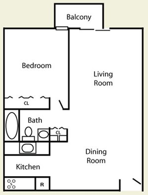 1 Bedroom Plus