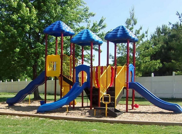 Playground at Interstate Apartments in South Sioux City, NE