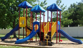 Playground at Interstate Apartments in South Sioux City