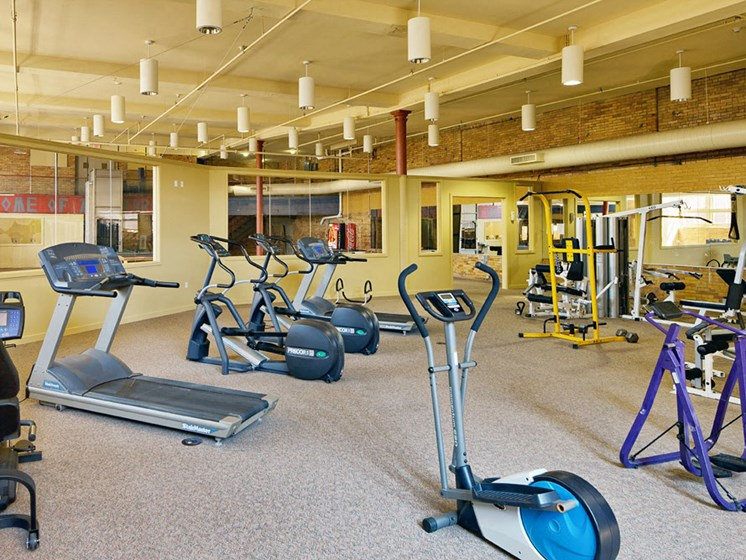 Apartments In Cleveland, Ohio Gym 3