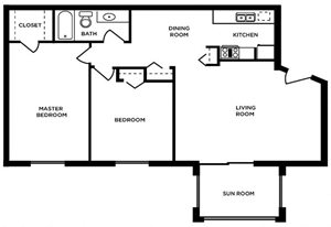 2 bed Maumee - Upper