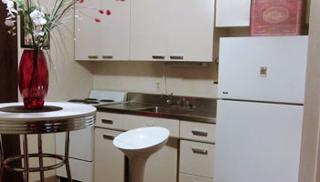 Kitchen of apartments in Sioux City, IA