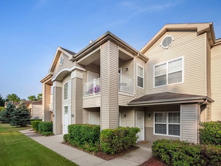 Updated Buildings at Shoreline Landing Apartments in Norton Shores MI