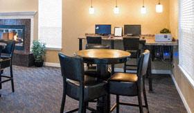 Business Center at Shoreline Landing Apartments in Norton Shores