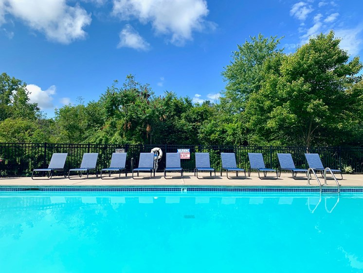 Heated Pool at Shoreline Landing Apartments in Norton Shores, MI