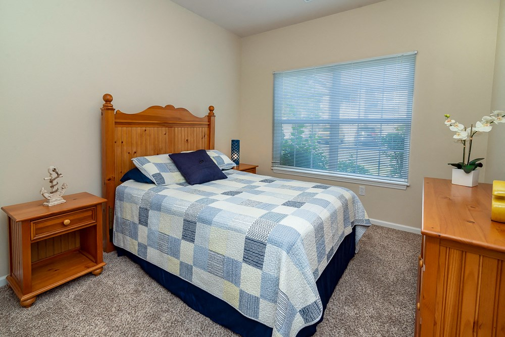 Apartments in Norton Shores Bedroom