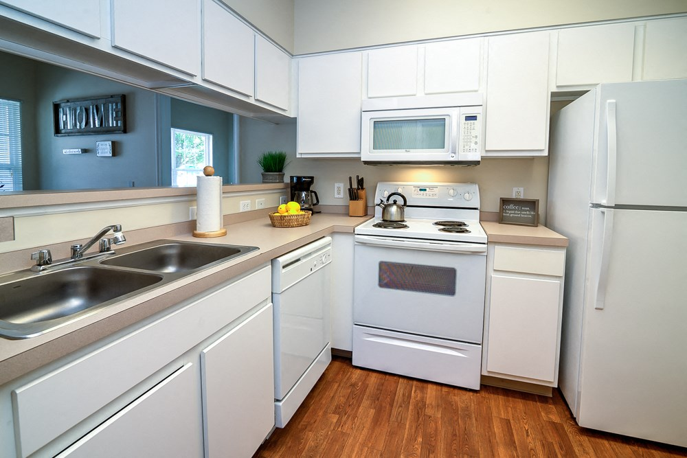 Apartments in Norton Shores Kitchens