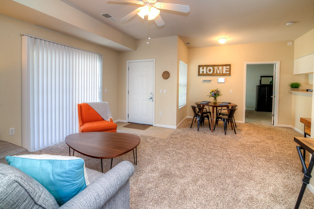 Apartments in Norton Shores Living Room