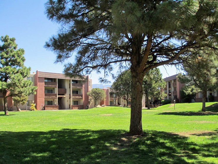 Beautiful Landscapes at Mission Hill Apartments In Albuquerque New Mexico