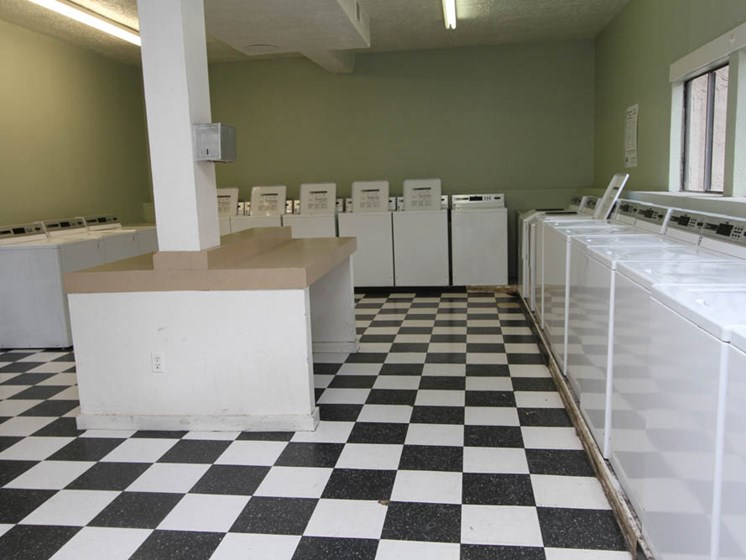 Laundry Room at Mission Hill Apartments in Albuquerque New Mexico