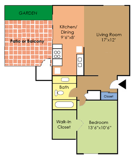 The Oriole Floor Plan 1