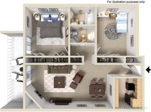 The Granada Floor Plan 3