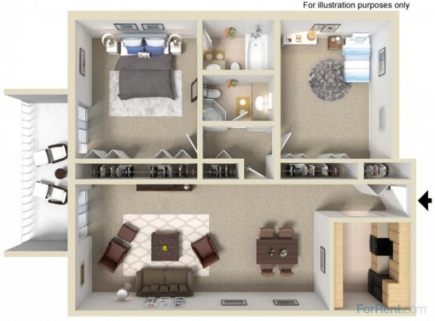 The Marbella Floor Plan 4
