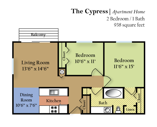 The Cypress Floor Plan 2