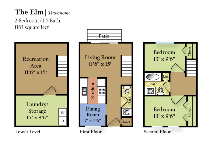 The Elm Floor Plan 4