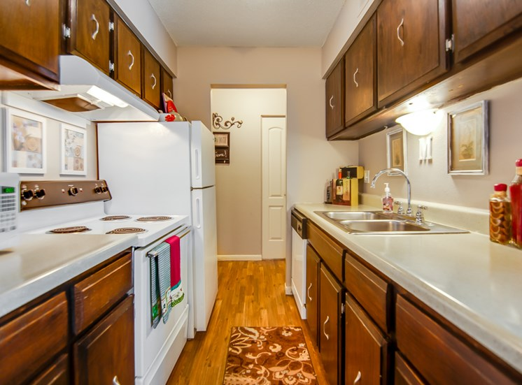 Huge kitchens at Knollwood Apartments in Kansas City, MO and in North Kansas City, MO