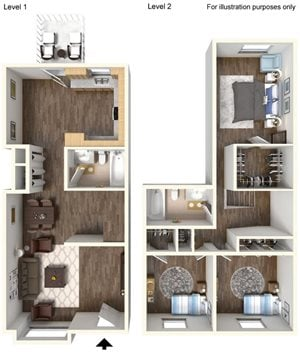 3 bedroom TH