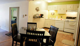 Kitchen and Dining Rooms of Apartments in Milwaukee