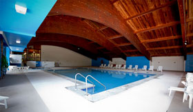 Indoor pool at Glenbrook Apartments in Milwaukee