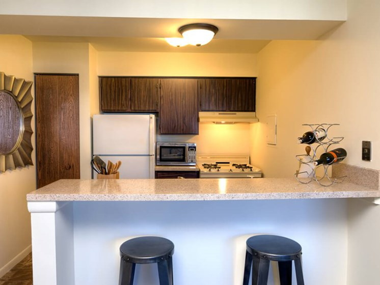 Open Concept Kitchens at Eastland Apartments in Southeast Grand Rapids MI